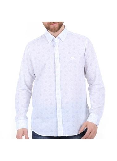 Robe di Kappa Rdk Gömlek Barron - Beyaz